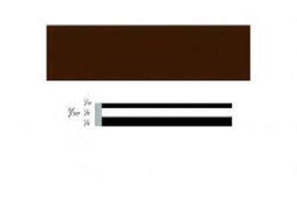 3M 71324 Scotchcal Striping Tape, 5/16 inch, Dark Brown
