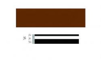 3M 72507 Scotchcal Striping Tape, 3/8 inch, Brown