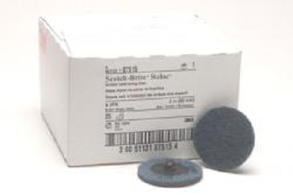3M 7515 Scotch-Brite Roloc Surface Conditioning Disc, 2 inch, Very Fine