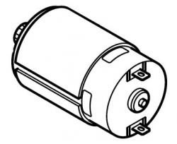 Makita 629819-4 Motor - Part