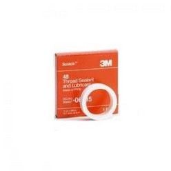 3M 6192Scotch 48 Thread Sealant Tape, 1/4 inch