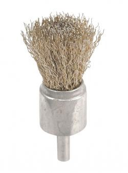 AES Industries 1848 Solid End Wire Brush