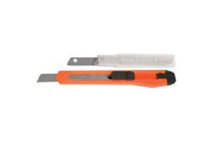 AES Industries 244 Snap Blade Knife & Blades - Carded