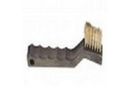 AES Industries 609-CD Natural Bristle Detail Brush - Carded