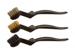 AES Industries 612 3pc Scratch Brush - 3 PC