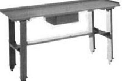 Amazing Atec Trans Tool T 0177 W 4 Work Bench Table Sloped W Drain 4 Ft Short Links Chair Design For Home Short Linksinfo
