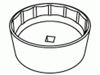 Kent-Moore J45023-A Oil Filter Wrench