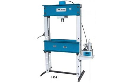 OTC 1854 100 Ton Capacity Shop Press with Electric/Hydraulic Pump