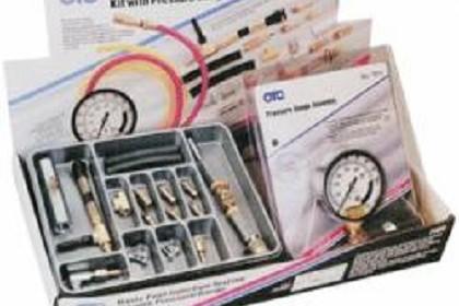 OTC 7859 Basic Domestic Fuel Injection Testing Kit with Gauge