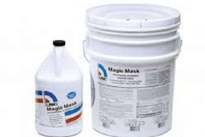 US Chemical 36135 1 Gallon Magic Mask Professional Overspray Masking Liquid