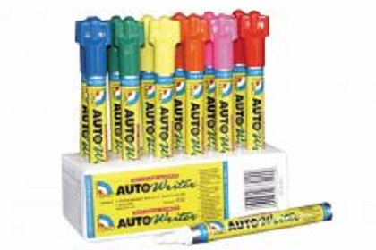 US Chemical 37000 Auto Writer Pens Assorted 12/Box