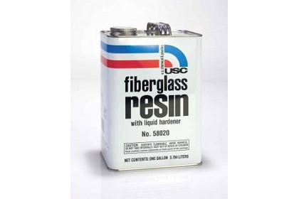 US Chemical 58015 Quart Fiberglass Resin